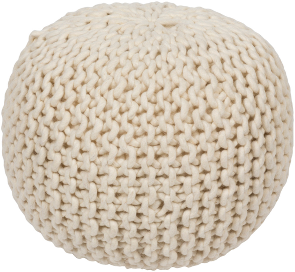 pouf  surya  rugs pillows wall decor lighting accent  - product info designer info