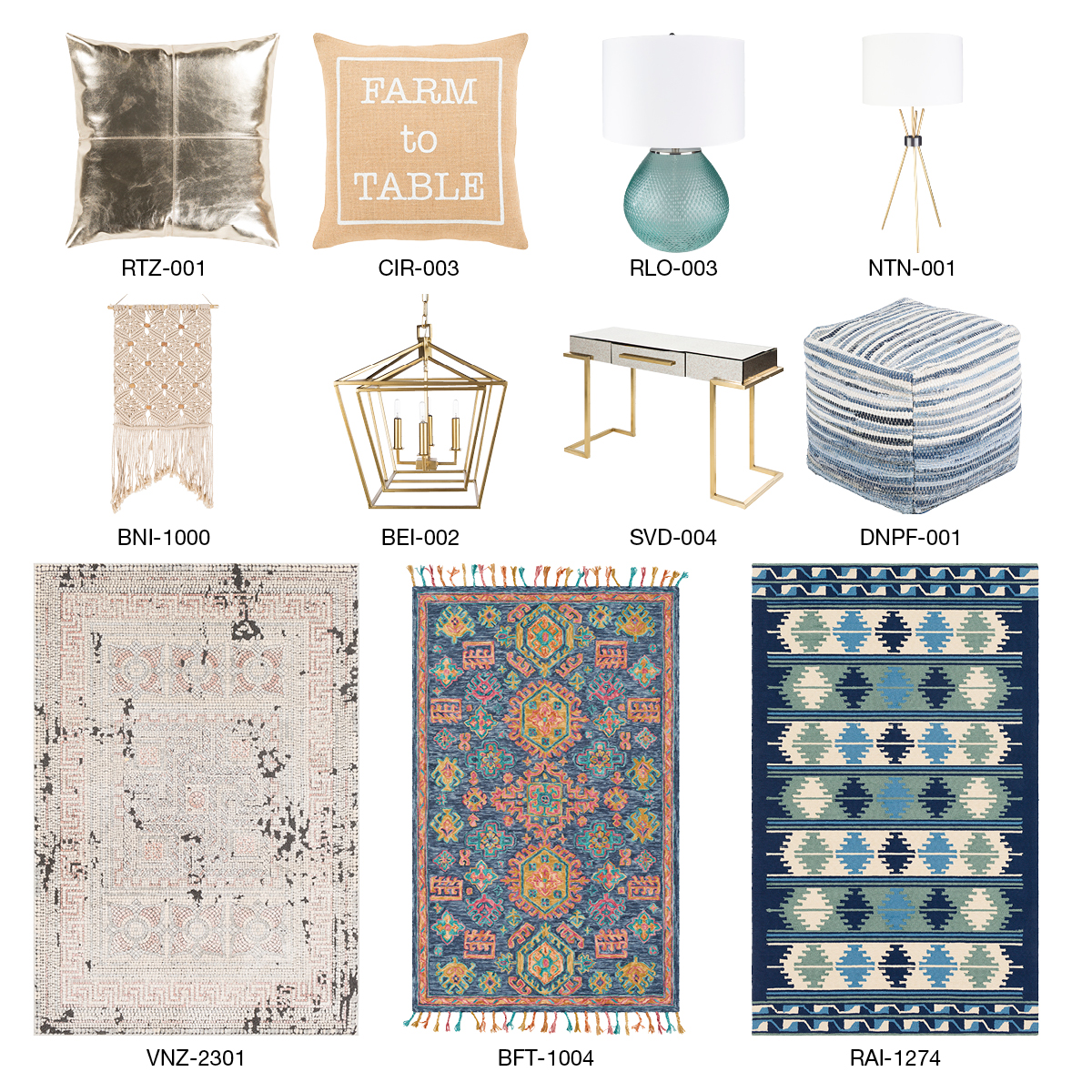 We are especially excited about launching our ceiling lighting collection as it rounds out our lighting portfolio making us a stronger partner in the ...  sc 1 st  Surya & SURYA TO DEBUT OVER 400 NEW RUGS AND ACCESSORIES AT HIGH POINT ...