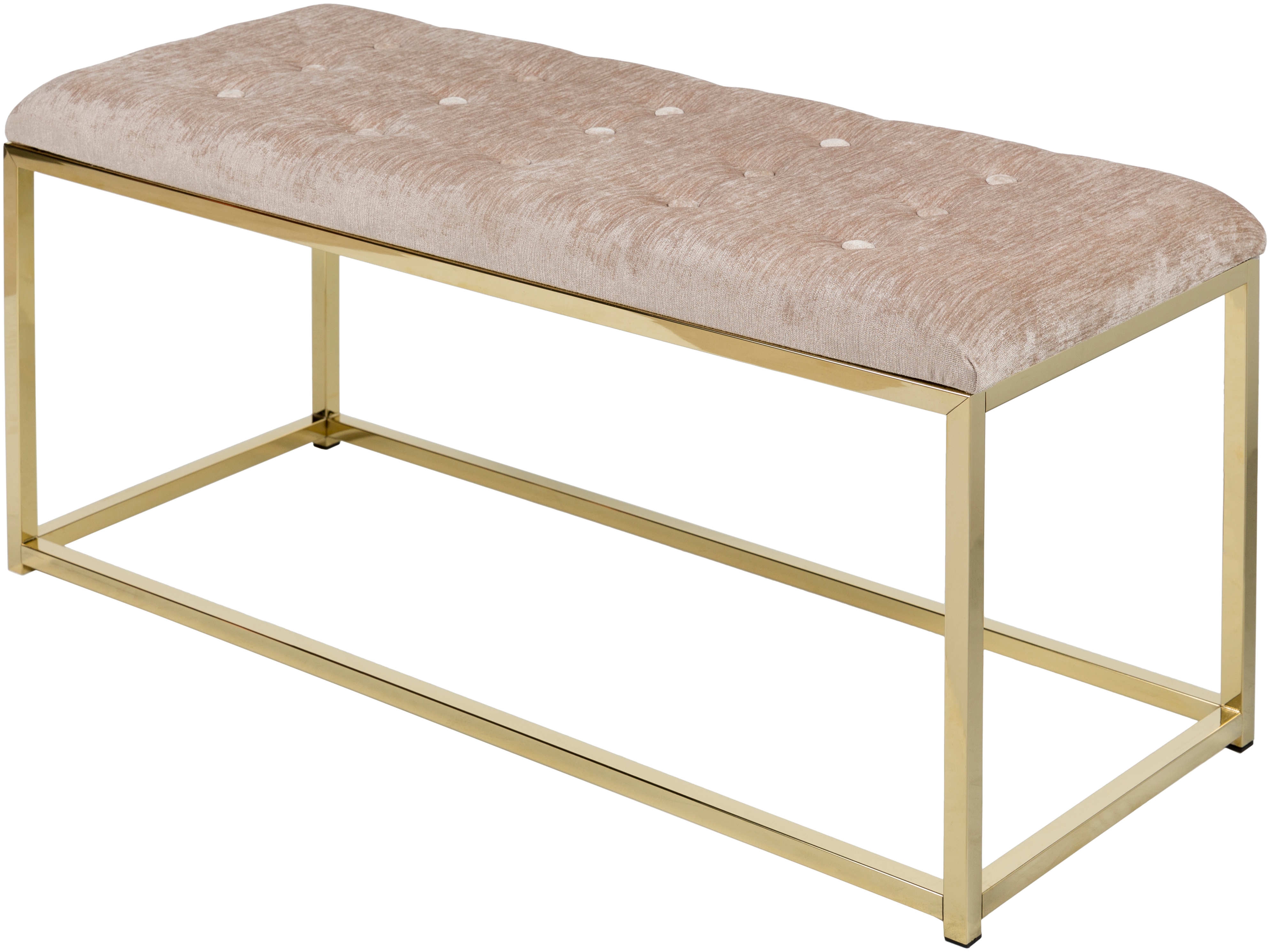 surya rigsby bench in taupe finish rig-001