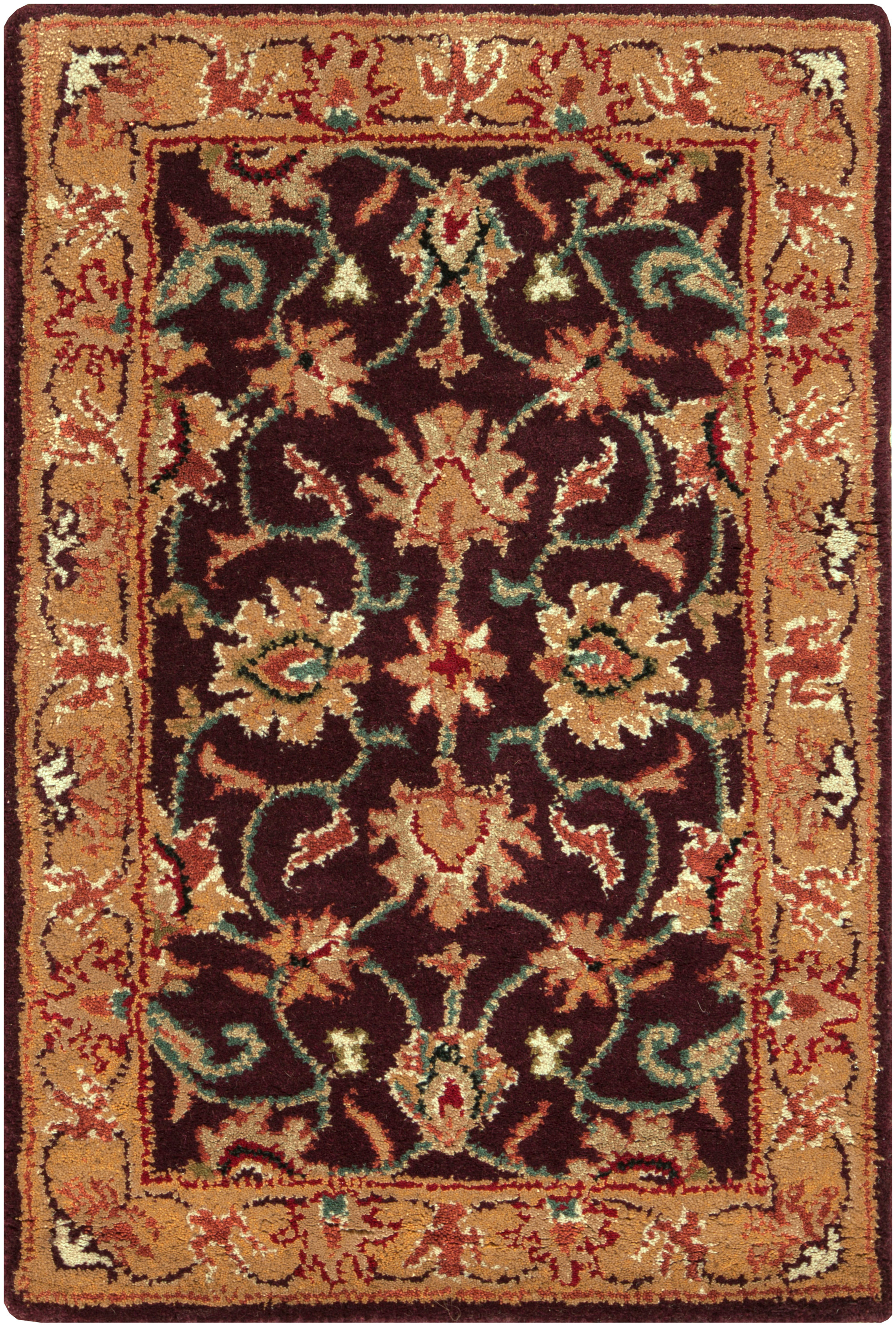 caesar hand tufted area rug 4 x